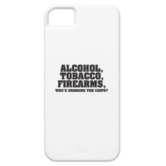 Alcohol Tobacco Firearms Who's bringing the chips? Case For The iPhone 5