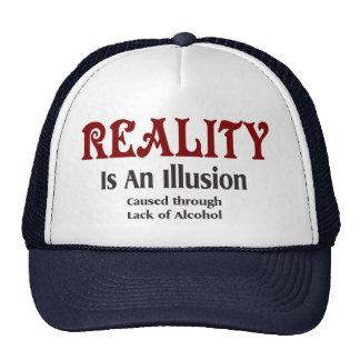 Alcoholic Reality Trucker Hat