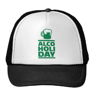 Alcoholiday St. Patrick's day Mesh Hats