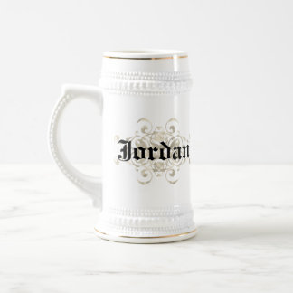 Alcon Coat of Arms - Personalize with first name 18 Oz Beer Stein