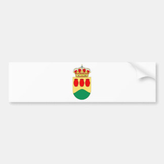 Alcorcón (Spain) Coat of Arms Bumper Stickers