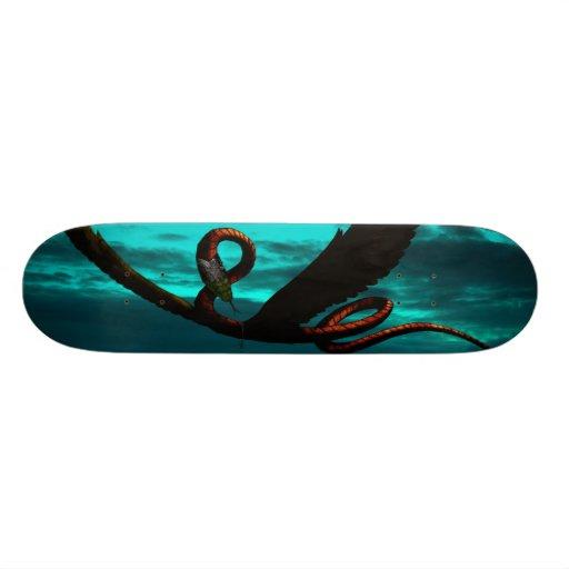 Alcorn - The Flying Serpent V8 Skateboard