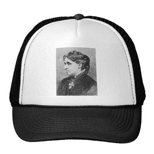 Alcott ~ Louisa May Novelist Writer Mesh Hats