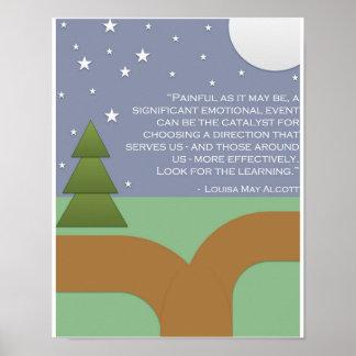 Alcott's Encouragement & Learning Poster