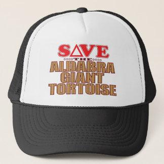 Aldabra Tortoise Save Trucker Hat