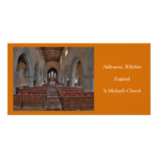 Aldbourne St Michael's Church Customised Photo Card