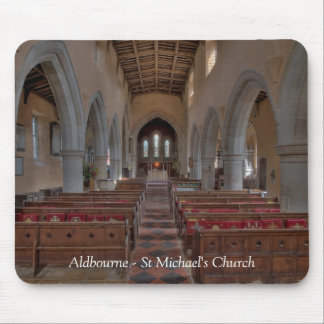 Aldbourne St Michael's Church Mouse Mat