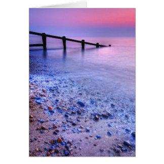 Aldeburgh Beach Suffolk 7. - Customized Card