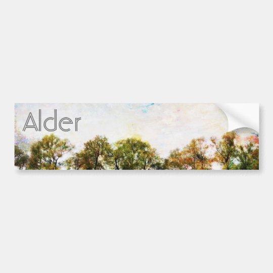 Alder Bumper Sticker