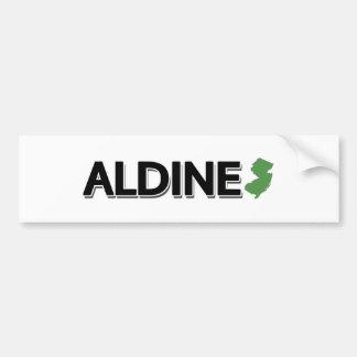 Aldine New Jersey Bumper Sticker