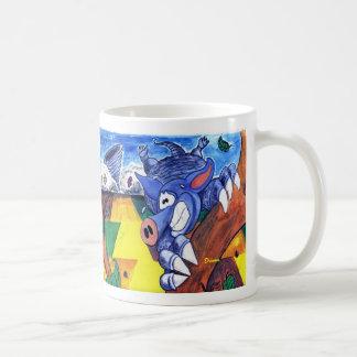 Aldo the Armadillo Coffee Mug