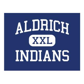 Aldrich - Indians - Junior - Beloit Wisconsin Postcard
