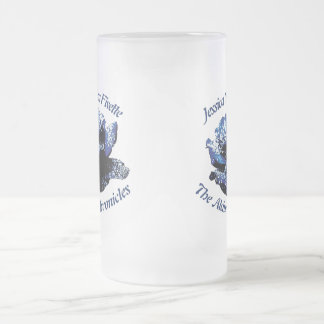 Aldurian Rose Large Frosted Glass Mug