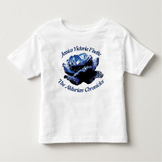 Aldurian Rose Toddler Jersey T-Shirt