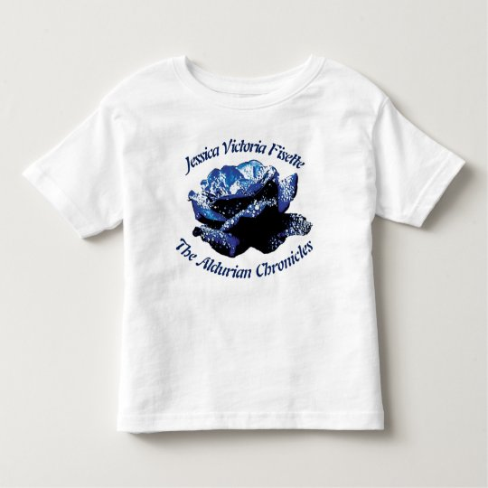 Aldurian Rose Toddler Jersey T-Shirt
