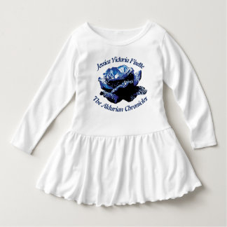 Aldurian Rose Toddler Ruffle Dress