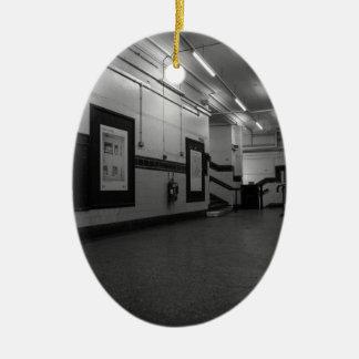 Aldwych Station Ceramic Oval Decoration