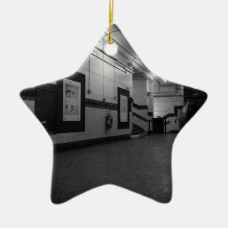 Aldwych Station Ceramic Star Decoration