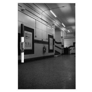 Aldwych Station Dry Erase Board