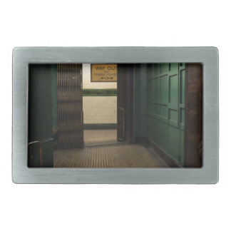 Aldwych Station Lift Rectangular Belt Buckle
