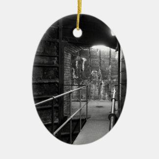 Aldwych Station Lift Shaft Ceramic Oval Decoration