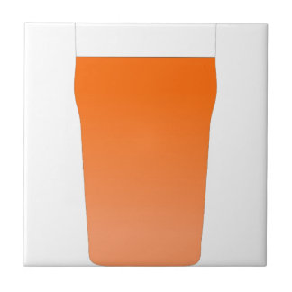 Ale bitter beer small square tile