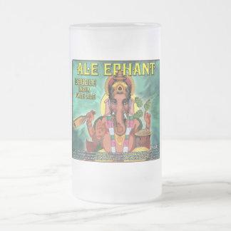Ale Ephant Cup/Mug Frosted Glass Mug