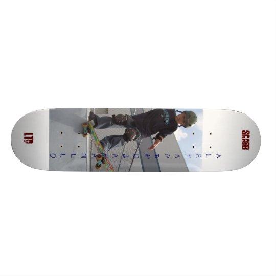Alejandro Jaramillo, scabb-ltd Skateboard Deck