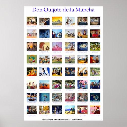 ALELUYA Don Quixote by @QUIXOTEdotTV Print