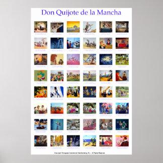 ALELUYA Don Quixote by QUIXOTEdotTV Print