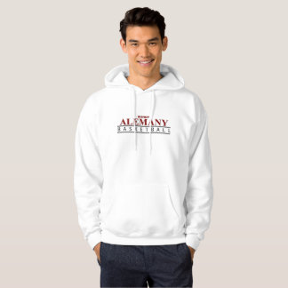 Alemany Men's Basic Hooded Sweatshirt