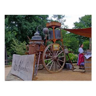 Alembic XVIII- distillation Card Postcard