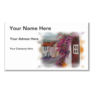 alentejo houses pack of standard business cards
