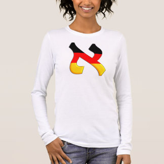 Aleph German.png Long Sleeve T-Shirt