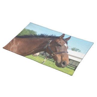 Alert Arabian Horse Placemat