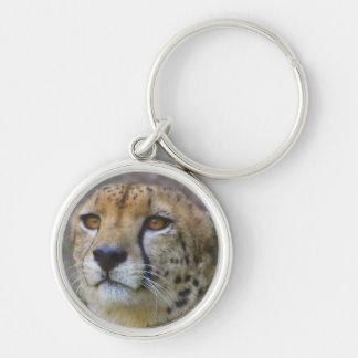Alert Cheetah Keychain