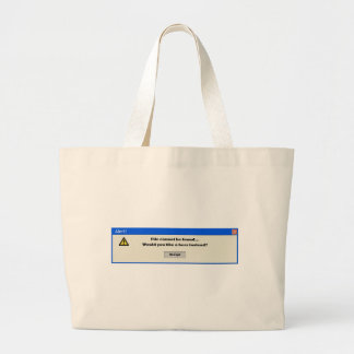 Alert file cannot be found bag