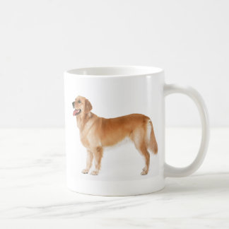 Alert Golden Retriever Coffee Mug