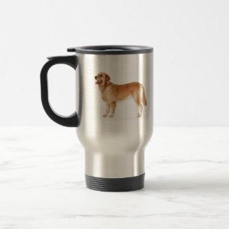 Alert Golden Retriever Travel Mug