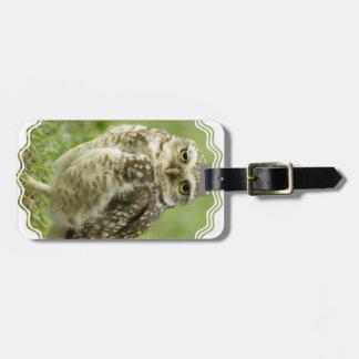 Alert Owl Luggage Tag