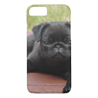 ALERT PUG PUPPY iPhone 8/7 CASE