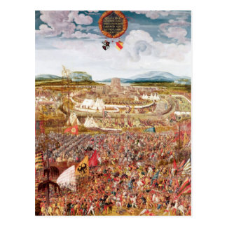 Alesia Besieged by Julius Caesar Postcard