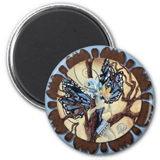 Alesia Faery 6 Cm Round Magnet