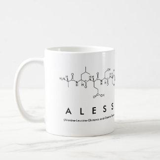 Alessandra peptide name mug