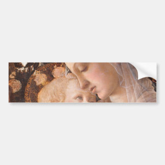 Alessandro Botticelli's The Virgin and Child Bumper Sticker