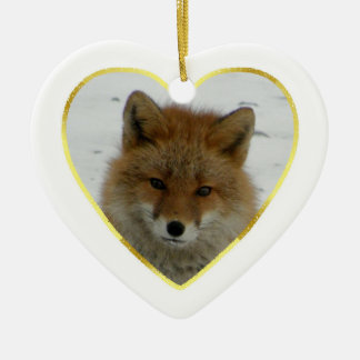 Aleutian Fox Christmas Ornament