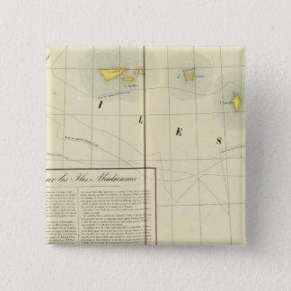 Aleutian Islands, Asia 38 15 Cm Square Badge