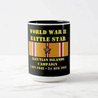 Aleutian Islands Campaign Two-Tone Mug