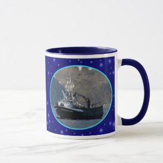 Aleutian Spray, Crab Boat in Dutch Harbor, Alaska Mug