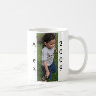 Alex, 2009 coffee mug